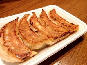 Gebratene Teigtaschen餃子